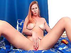 Amateur, Milf, Webcam, Big Tits, HD, Red Head, Solo Female, Toys