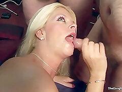 Amateur, Blondes, GangBang, Milf, Group Sex, Handjob, Sex, Deepthroat, Facial, HD