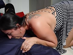 Cumshot, Milf, POV, Cum, Big Tits, Brunette, Facial, HD, Old and Young
