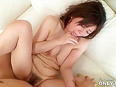 Asian, Cumshot, POV, Cum, Brunette, HD, Hairy, Japanese