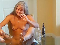 Amateur, Mature, Masturbation, Milf, Small Tits, Female Orgasm, HD, Solo Female, Toys