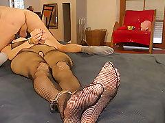 Amateur, Fetish, Milf, BDSM, Bondage, Brunette, Foot Fetish, HD, Lingerie