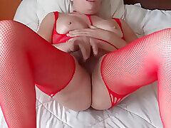 Amateur, Big Cock, Blondes, Cumshot, Milf, POV, Handjob, Cum, Cock, HD, Stockings