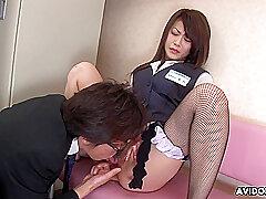 Japanese Explicit Hina Aizawa Was Masturbating Well-built