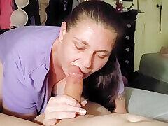 Amateur, Milf, POV, Big Ass, Big Tits, Brunette, Deepthroat, HD, Tattoo