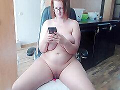 Amateur, Milf, Webcam, BBW, Big Ass, Big Tits, European, Red Head, Solo Female