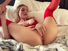 Big Cock, Blondes, Milf, Cock, Big Tits, HD, Solo Female, Stockings, Toys