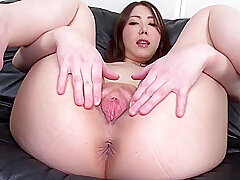 Asian, Milf, Dildo, Brunette, HD, Japanese