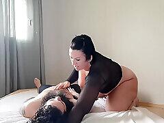 Amateur, Milf, Webcam, Brunette, Face Sitting, Femdom, HD
