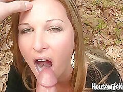 Amateur, Milf, POV, Big Tits, Deepthroat, HD, Outdoor