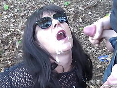 Amateur, GangBang, Milf, Cum, Brunette, Bukkake, Facial, HD, Outdoor, Swallow Cum, Swingers