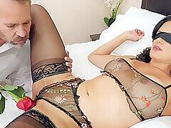 Amateur, Milf, Big Tits, Brunette, Deepthroat, HD, Lingerie, Stockings