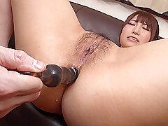 Asian, Dildo, Brunette, HD, Hairy, Japanese, Solo Female