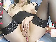 Amateur, Milf, Webcam, Big Ass, Big Tits, Brunette, European, Russian, Solo Female, Stockings