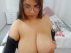 Amateur, Milf, Webcam, BBW, Big Tits, Brunette, HD, Solo Female