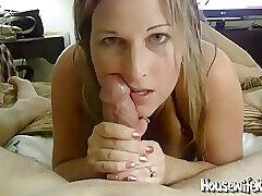 Amateur, Big Cock, Blondes, Cumshot, Milf, POV, Cum, Cock, Deepthroat, Facial, HD