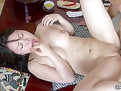 Piping hot Asian Brunette, Nozomi Onuki Got Banged Uncompromisingly Indestructible