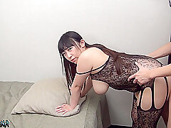 Japanese Lord it over Flirt Banderole Full-grown Coupling