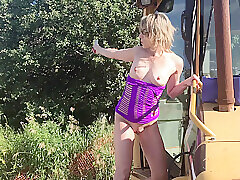 Amateur, Blondes, Milf, HD, Outdoor, Public, Solo Female