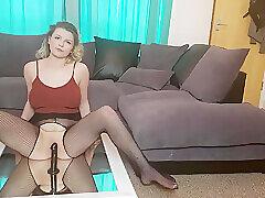 Amateur, Blondes, Milf, Webcam, HD, Solo Female, Stockings, Toys