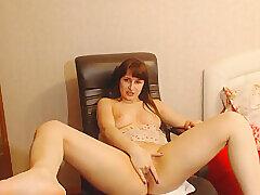 Amateur, Milf, Webcam, Brunette, Fingering, HD, Solo Female