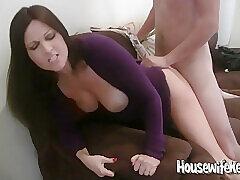 Amateur, Big Cock, Cumshot, Milf, POV, Threesome, Cum, Cock, Brunette, Deepthroat, Facial, HD