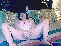 Amateur, Milf, Webcam, Big Tits, Brunette, HD, Solo Female, Toys