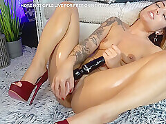 Amateur, Blondes, Milf, Small Tits, Webcam, HD, Shaved, Solo Female, Tattoo, Toys
