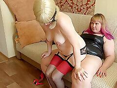 Amateur, Blondes, Milf, HD, Lesbian, Stockings, Strapon, Toys
