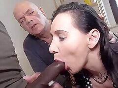 Amateur, Mature, Big Cock, Milf, Threesome, Cock, Cuckold, Facial, German, HD, Interracial, Stockings