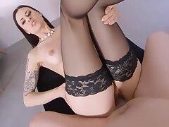 Milf, POV, Big Tits, Czech, European, HD, Stockings, Tattoo