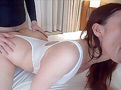 Amateur, Asian, Milf, POV, Threesome, HD, Japanese