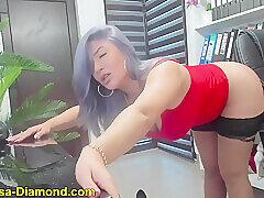 Amateur, Blondes, Milf, Webcam, Big Ass, Big Tits, HD, Solo Female, Stockings, Toys