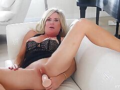 Amateur, Milf, Big Ass, Big Tits, HD, Solo Female, Toys