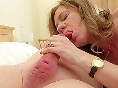 Mature, Blowjob, Cumshot, Fetish, Milf, Cum, Big Tits, Couple, Cunnilingus, Facial, Lingerie, Stockings, Swallow Cum