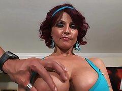 Cumshot, Milf, POV, Cum, Big Tits, HD, Red Head