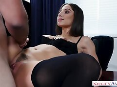 Milf, Big Ass, Brunette, HD, Hairy, Stockings