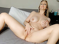 Blondes, Milf, Webcam, American, Big Tits, Lingerie, Solo Female, Stockings, Toys