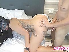 Amateur, Milf, Big Ass, Brunette, HD, Tattoo