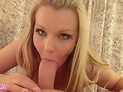 Lay Milf Out of the closet Blowjob