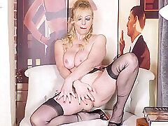 Amateur, Blondes, Milf, Big Tits, HD, Solo Female, Stockings