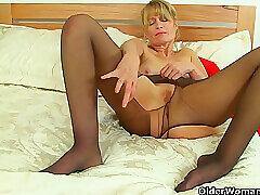 Amateur, Mature, Blondes, Milf, Big Tits, HD, Solo Female, Stockings, Tattoo, Toys