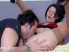 Amateur, GangBang, Milf, POV, Big Tits, Brunette, French, HD, Stockings