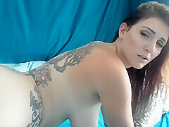 Amateur, Milf, Big Tits, Brunette, HD, Solo Female, Tattoo, Toys