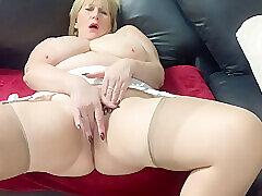 Amateur, Blondes, Milf, Webcam, Big Tits, British, European, Fingering, HD, Solo Female, Stockings