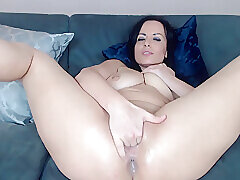 Amateur, Milf, Webcam, Big Tits, Brunette, HD, Solo Female, Tattoo
