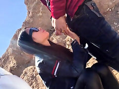 Asian, Blowjob, Fuck, Doggystyle, HD, Outdoor