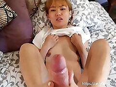 Amateur, Asian, Cumshot, Teens, Cum, Foot Fetish, Footjob, Japanese, Massage