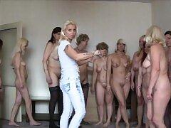 Blondes, Group Sex, Handjob, Sex, BBW, Brunette, Czech