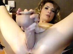 Amateur, Mature, Masturbation, Solo, Webcam, Fuck, Toys